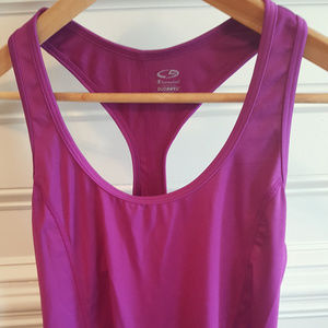 Women's Champion Fuscia Racer Back Sports Tank